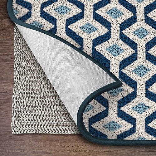 Ninja Brand Gripper Rug Pad Size 9 X 12 For Hardwood Floors Hard Surfaces Top Adds Cushion And Maximum Protection Works With All Types