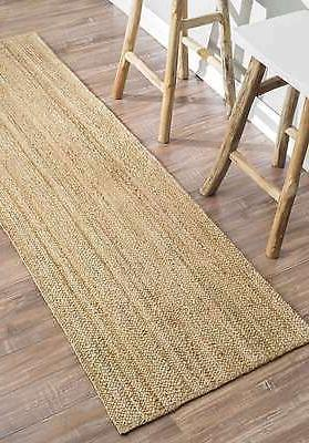 nuLOOM Made Contemporary Modern Braided Area Rug in
