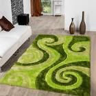 AllStar Rugs Hand-Tufted Green Area Rug