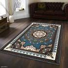 AllStar Rugs Hand-Woven Blue Area Rug