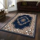 AllStar Rugs Hand-Woven Blue/Beige Area Rug