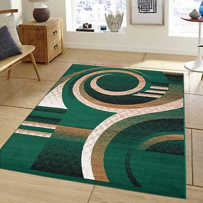AllStar Rugs Hand-Woven Green Area Rug