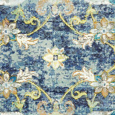 Area Rug Modern Carpet Blue Room Floor Decor Rugs Bedroom Of