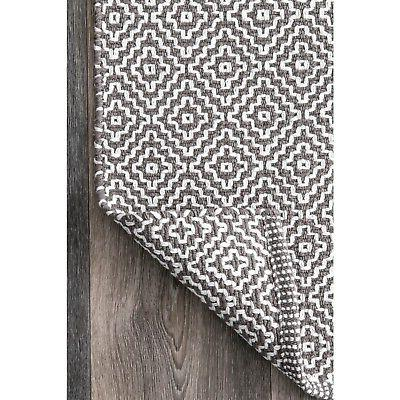 nuLOOM Flatwoven Area in Grey