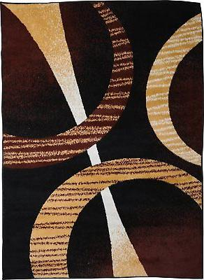 Home Dynamix Premium 5194-502 Brown Area Rug
