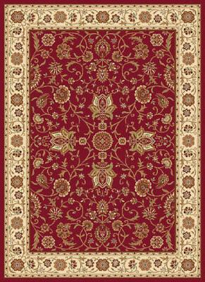 Home Dynamix Red Traditional - Persian/Oriental Area Rug All