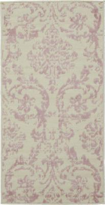 Nourison Jubilant 2' x 4' Small White and Pink Area Rug 0994