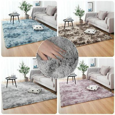 Large Floor Soft Area Rug Shaggy Room