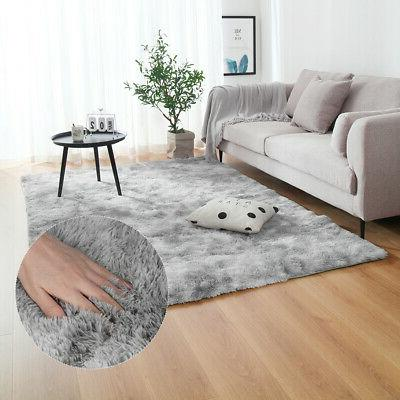 Large Plush Floor Soft Shaggy Bedroom Room Fluffy