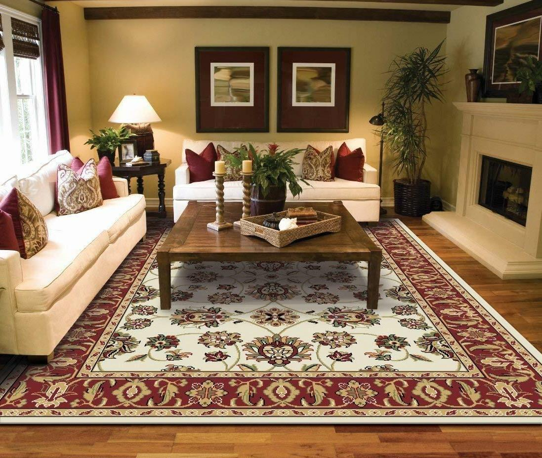 Large Rugs for Living Room 8x10 Black Clearance