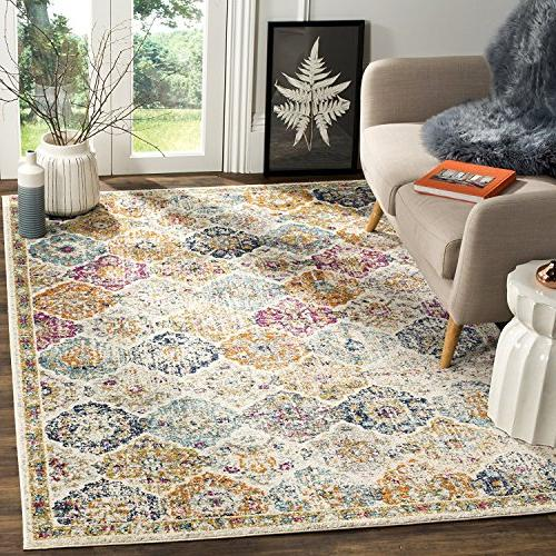 32f0af56ab6 Safavieh Madison Collection MAD611B Bohemian Chic Distressed Are