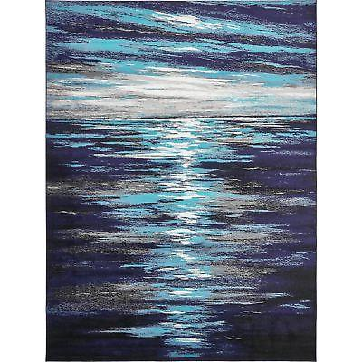 Unique Loom Metro Lakeview Area Rug - 9' x 12'