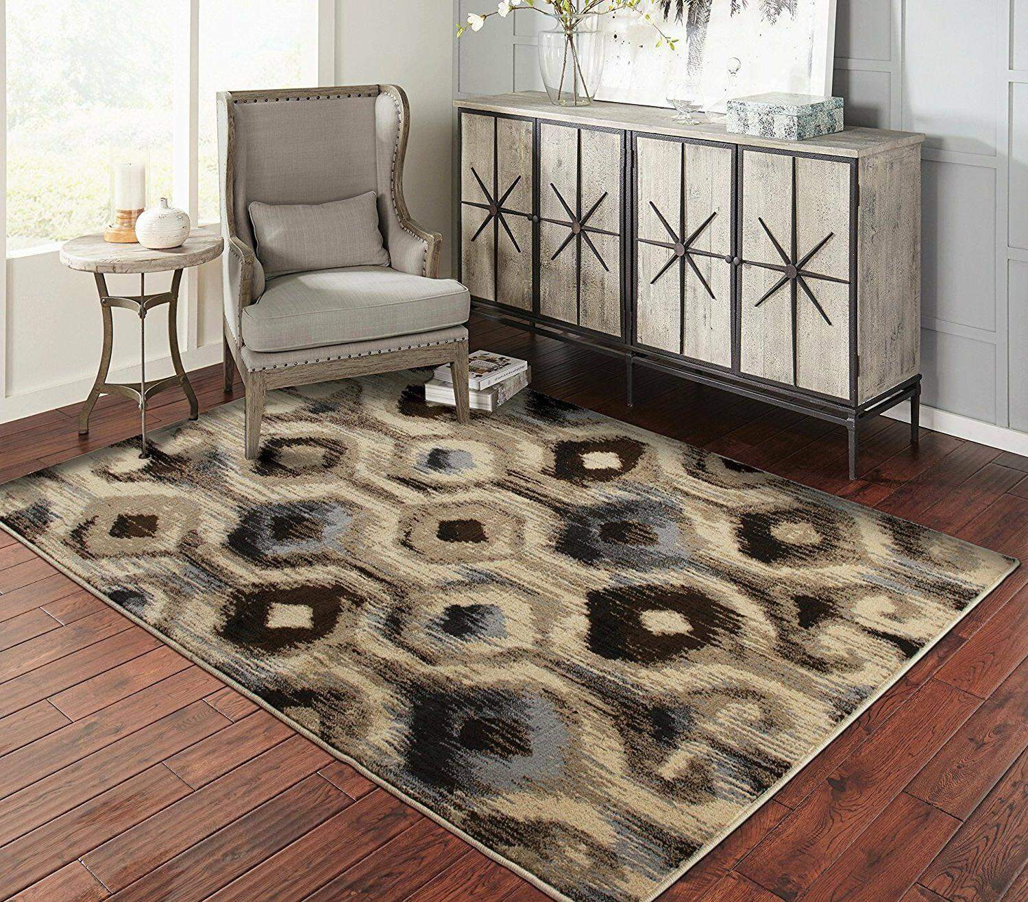 Modern Area Rugs for Living Room 8x10 Floral