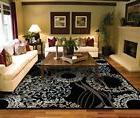 Modern Black Area Rugs for Living Room Area Rugs 5x7 clearan