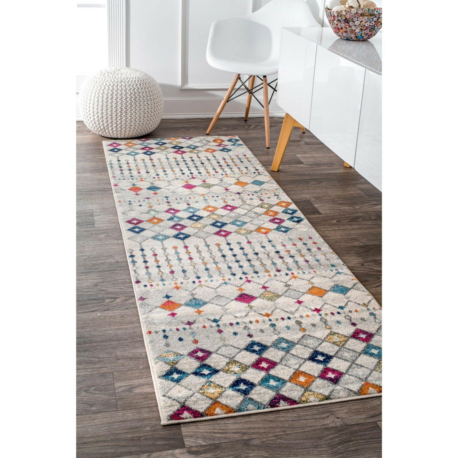 nuLOOM Modern Geometric Moroccan in Color