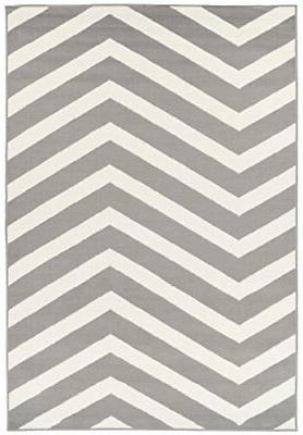 Modern Large Gray Area Rugs for Living Room 8x10 Clearance U