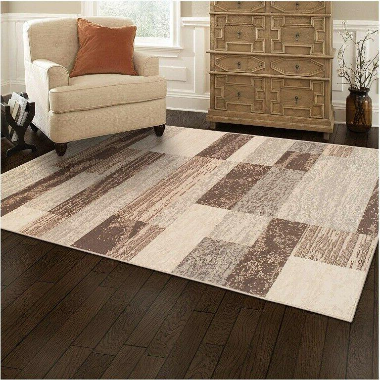 modern rockwood collection area rug