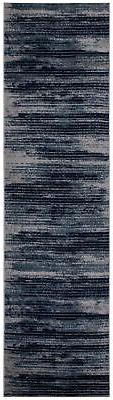 "Diagona Designs Modern Stripes Design Runner Rug 31"" W x 118"