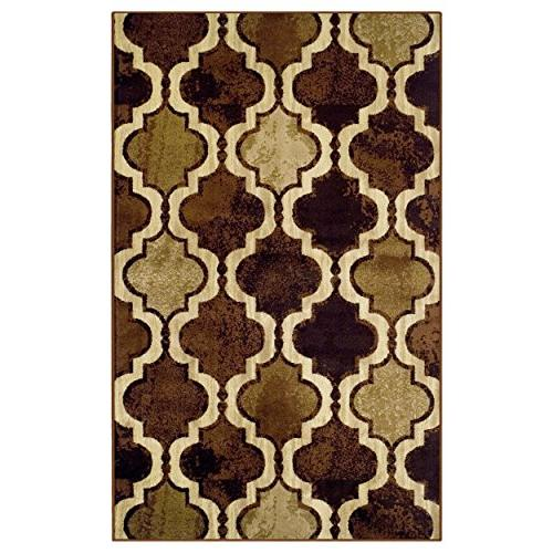 Superior Viking Area Rug, Height with Jute Chic Textured Geometric Pattern, Anti-Static, Water-Repellent Rugs - 5' 8'