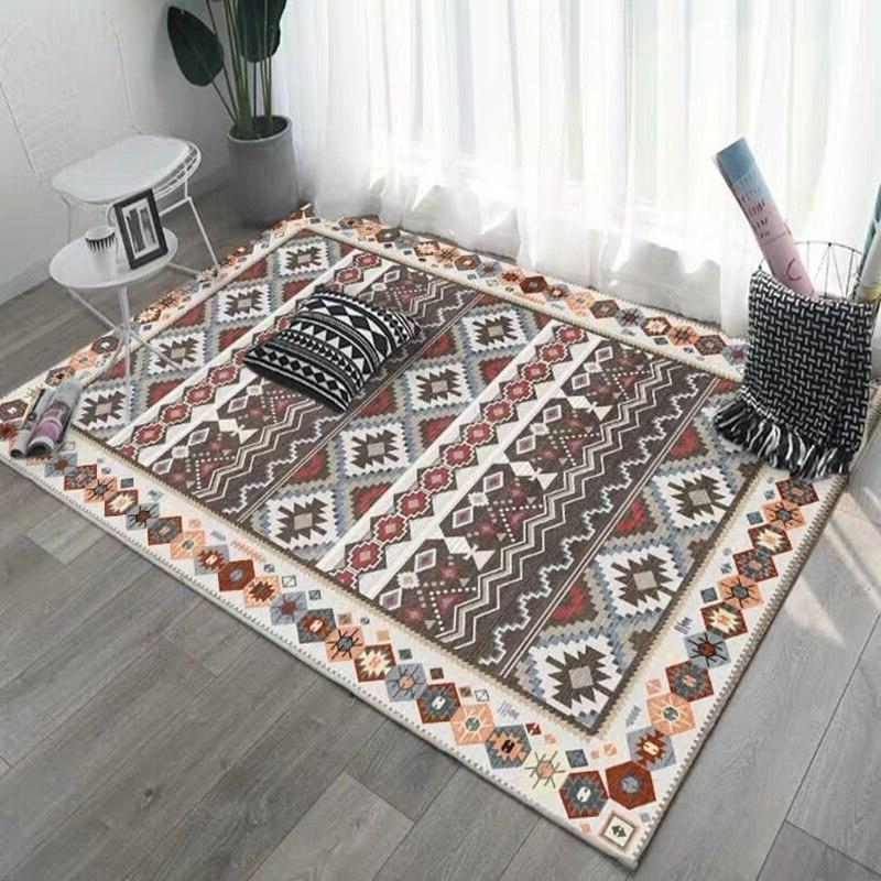 Morocco Living Decor Sofa Table Floor Mat <font><b>Vintage</b></font> <font><b>Rugs</b></font>