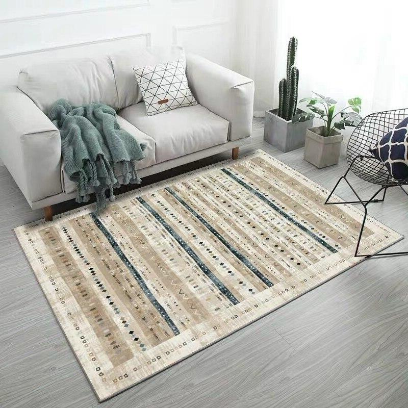 Morocco Living Room Carpet American Decor Sofa <font><b>Rug</b></font> Coffee Table Floor <font><b>Vintage</b></font> Persian