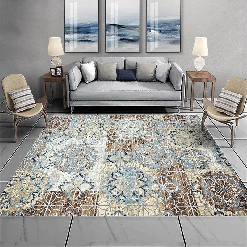 American Bedroom Carpet Home Decor Coffee Table Floor <font><b>Vintage</b></font> <font><b>Area</b></font>