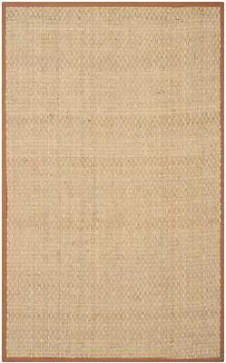 Safavieh Natural Fiber Seagrass Natural / Brown Area Rug 2'