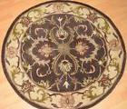 "NEW Area Rug Artistic Weavers 3'6"" Round WOOL Oxford Aria Br"