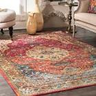 new traditional vintage medallion area rug in