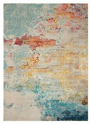 "Nourison Modern Area Rug, 6'7"" 9'7"" , Sealife"