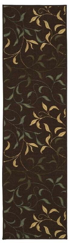 Ottomanson Contemporary Leaves Rug with