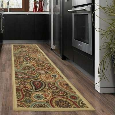 ottohome collection paisley design modern area rug
