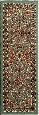 Ottohome Persian Heriz, Oriental Design, Runner Rug with Non