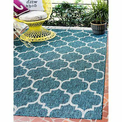 outdoor trellis area rug
