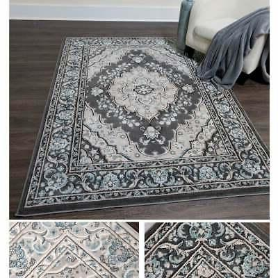 Home Dynamix Oxford Collection Medallion Round Rug
