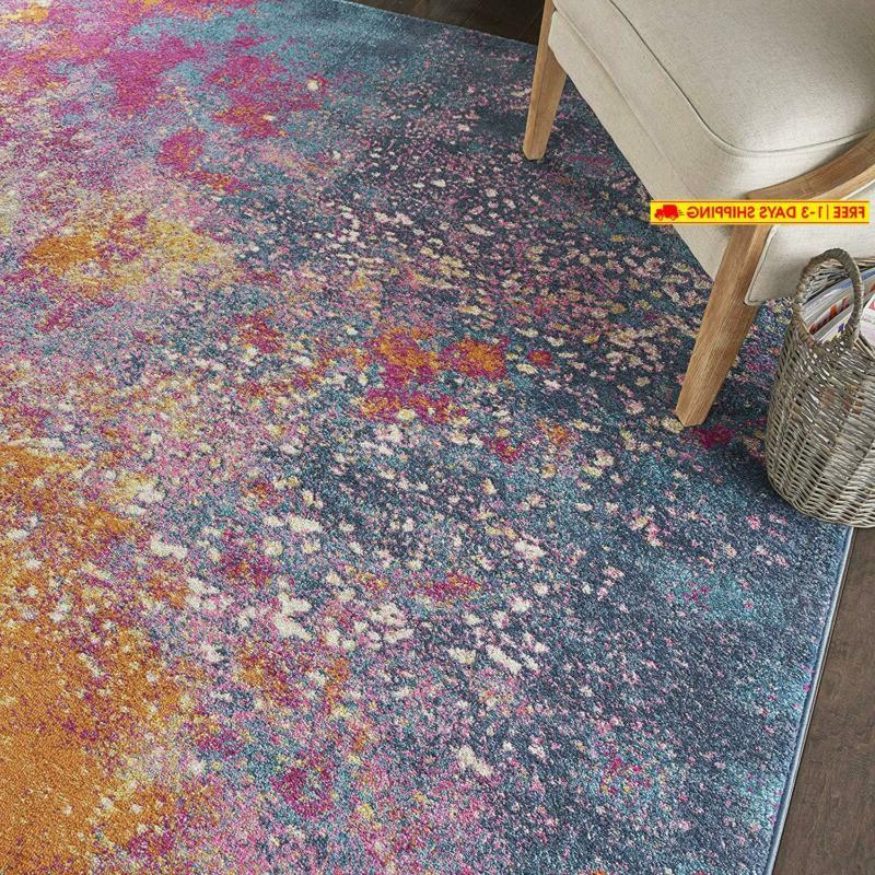 Nourison Passion Modern Abstract Colorful 8'