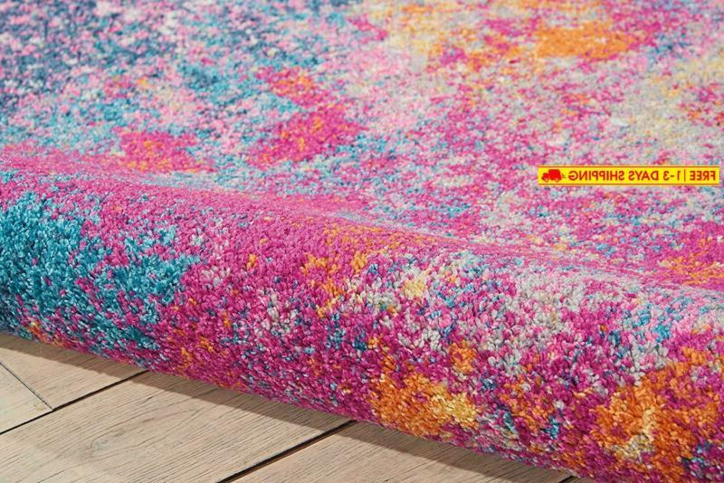Nourison Passion Abstract Colorful Area Rug, 8' 10'