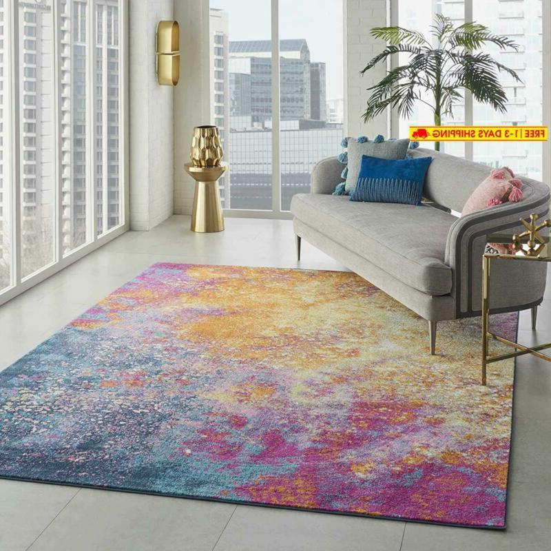 Nourison Passion Abstract Colorful 8' 10'