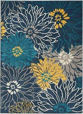 passion psn17 blue area rug bohemian transitional