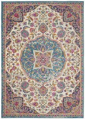 passion psn22 ivory multi area rug traditional