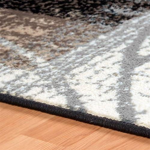 Superior Collection Rug, 8mm with Jute Backing, Chic Geometric Design, Fashionable 10' Rug