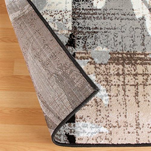 Superior Pastiche Area Rug, 8mm with Geometric Design, Fashionable and Rugs 8' 10' Rug