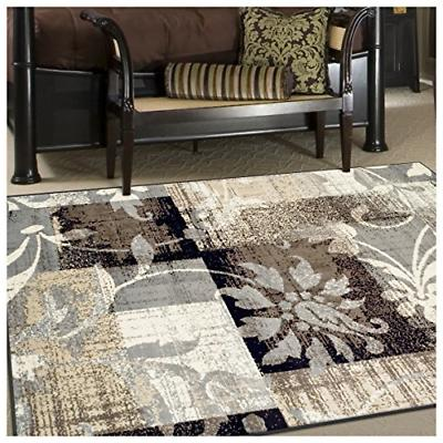 Superior Rug, with Jute Geometric Patchwork Fashionable and Rugs 10'