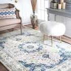 nuLOOM Persian Area Rug Traditional Vintage Fancy Ivory Livi