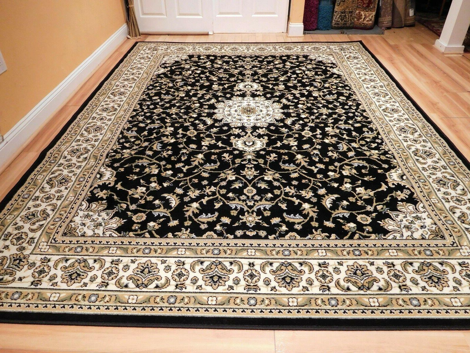 Red Traditional Oriental Medallion 8x10 Area Rug Carpet 2x3 Mat