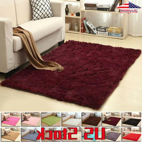 rug mat large bedroom decoration fluffy dining
