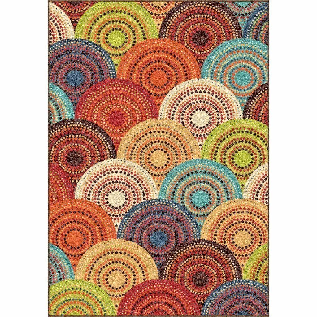 RUGS AREA 8x10 RUG CUTE COLORFUL COOL