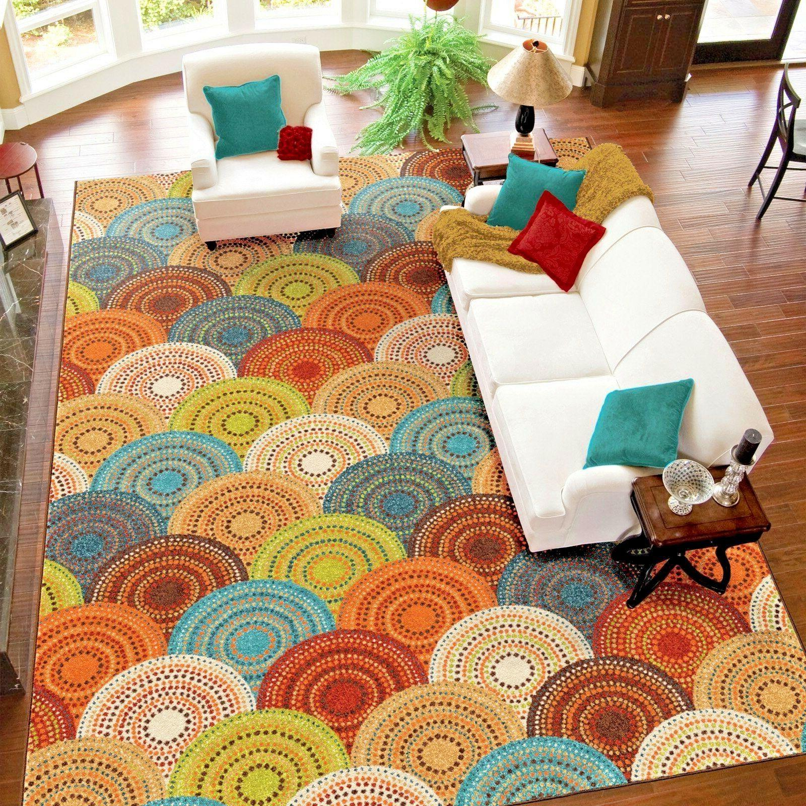 RUGS RUGS CARPETS 8x10 RUG CUTE COLORFUL LARGE COOL RUGS ~