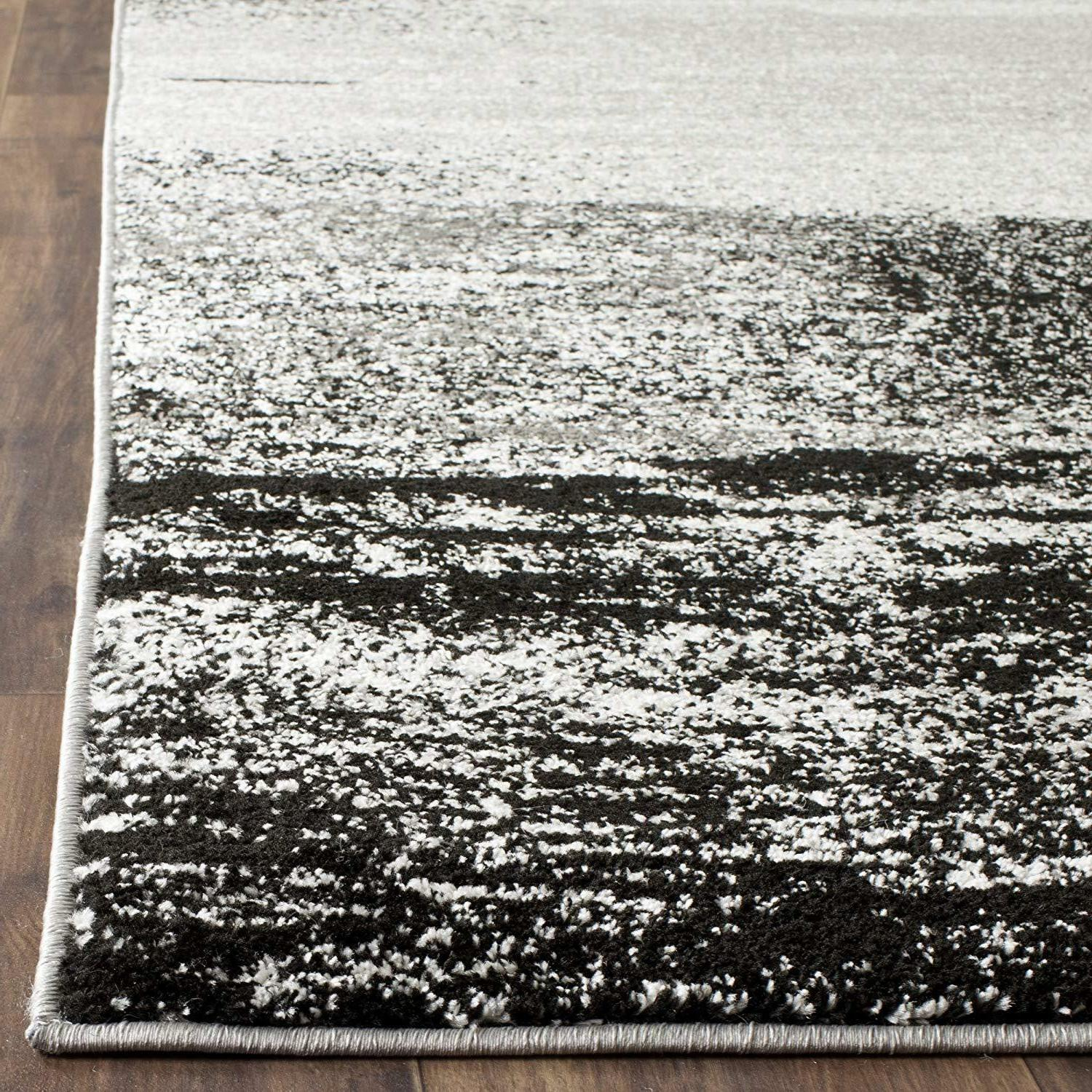 Safavieh Adirondack Collection Silver Abstract Area Rug