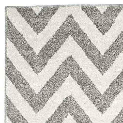 Safavieh Silver Blue Abstract Area Rug